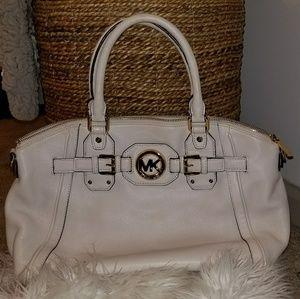 Cream/ivory Michael Kors shoulder bag